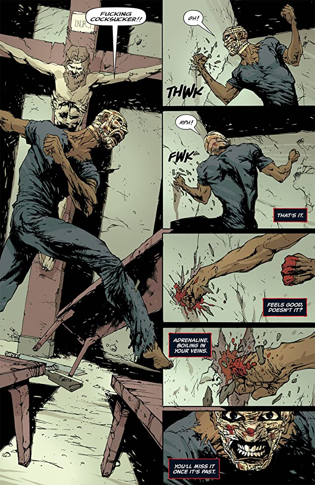 click for super-sized previews of Unknown Soldier #5