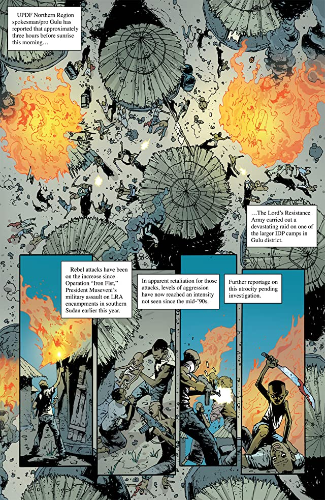 click for super-sized previews of Unknown Soldier #6