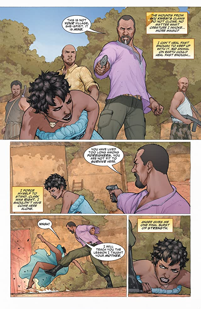 click for super-sized previews of Vixen: Return of the Lion #2