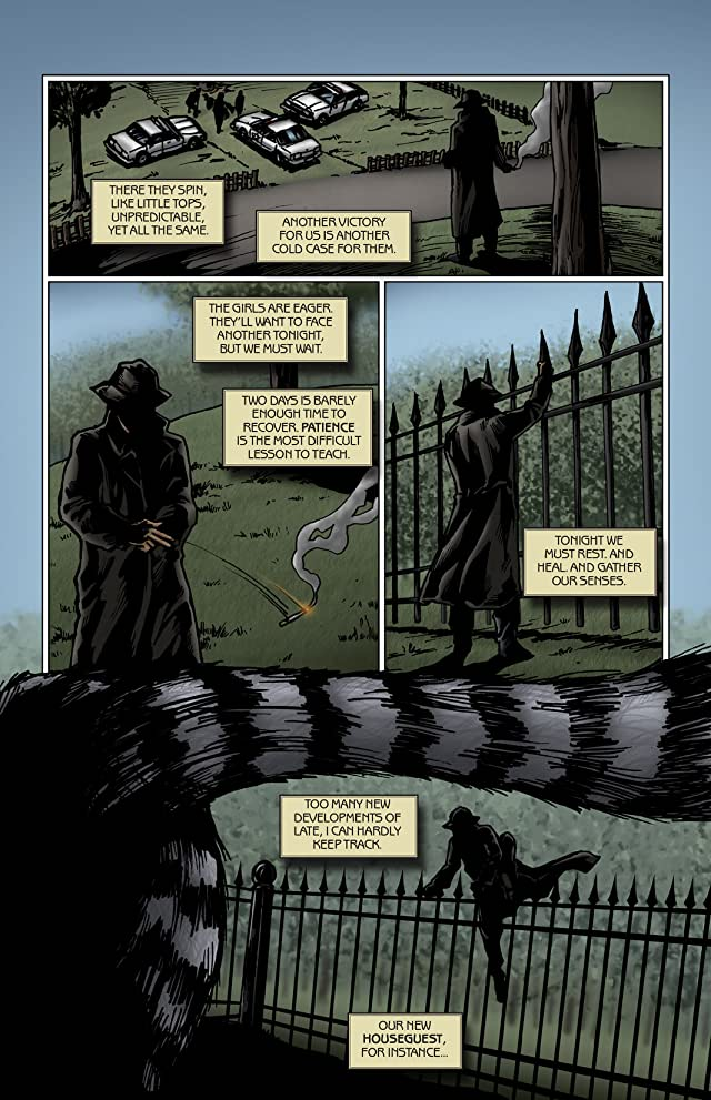 click for super-sized previews of Where the Witches Lurk #2
