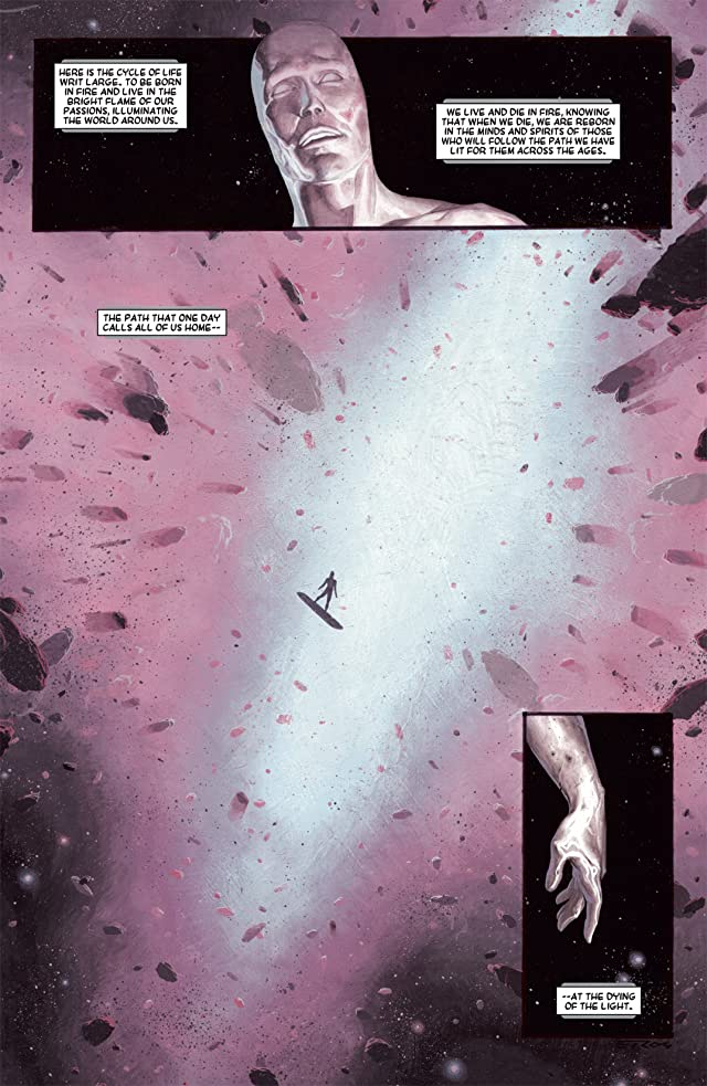 click for super-sized previews of Silver Surfer: Requiem #1
