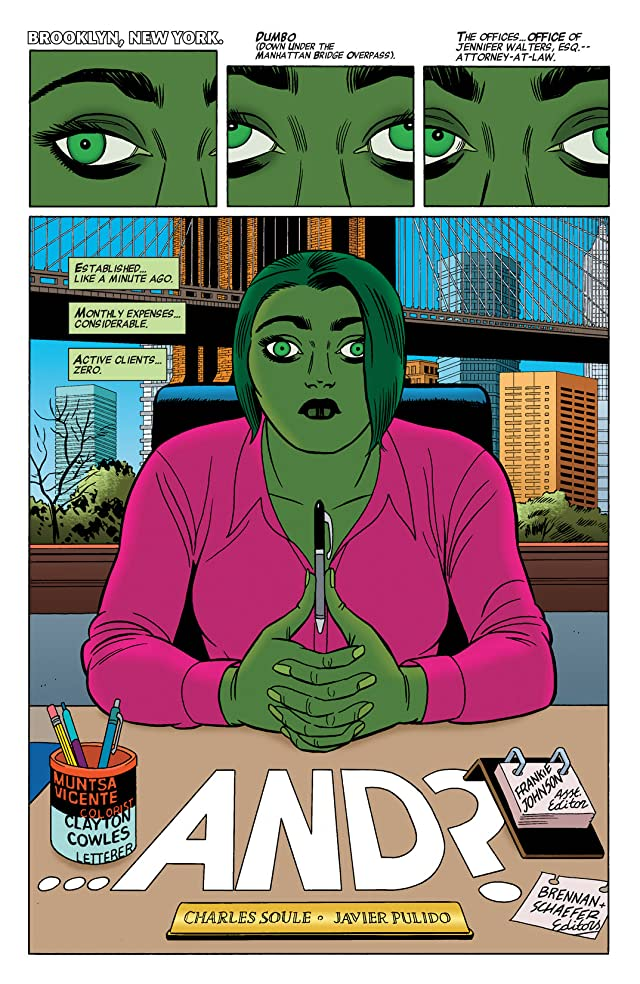 click for super-sized previews of She-Hulk (2014-) #2