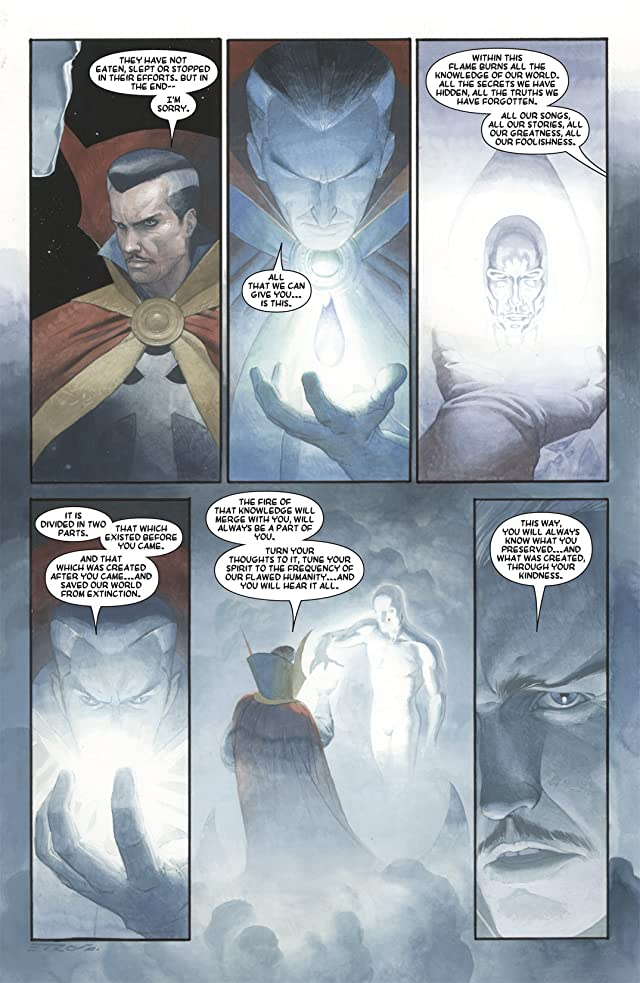 click for super-sized previews of Silver Surfer: Requiem #3 (of 4)