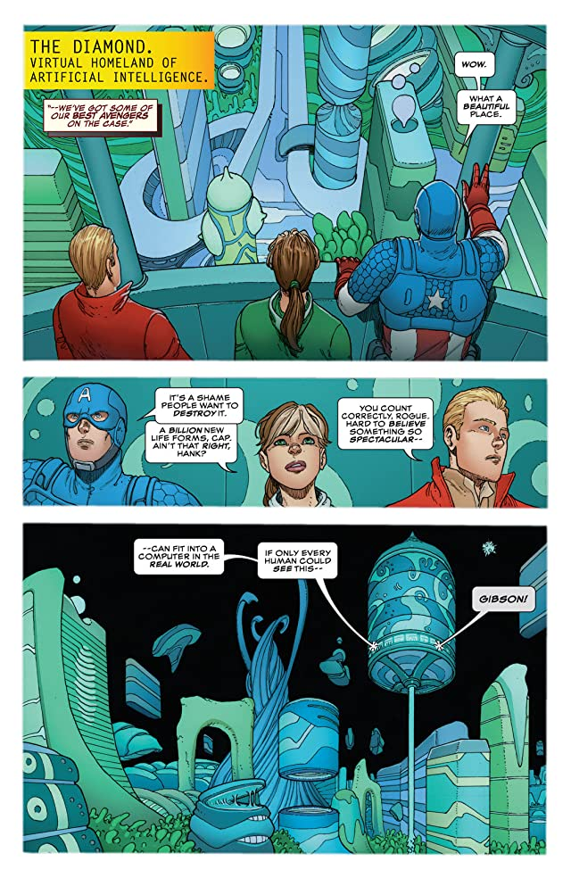 click for super-sized previews of Avengers A.I. (2013-) #10