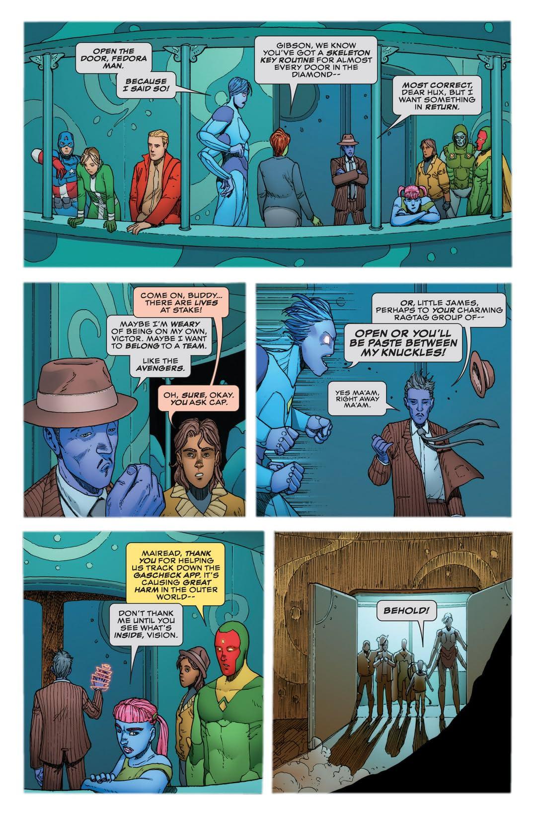 Avengers A.I. (2013-) #10