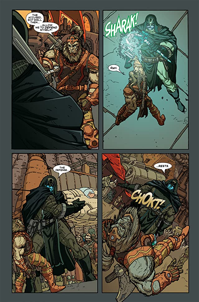 click for super-sized previews of Annihilation: Ronan #1