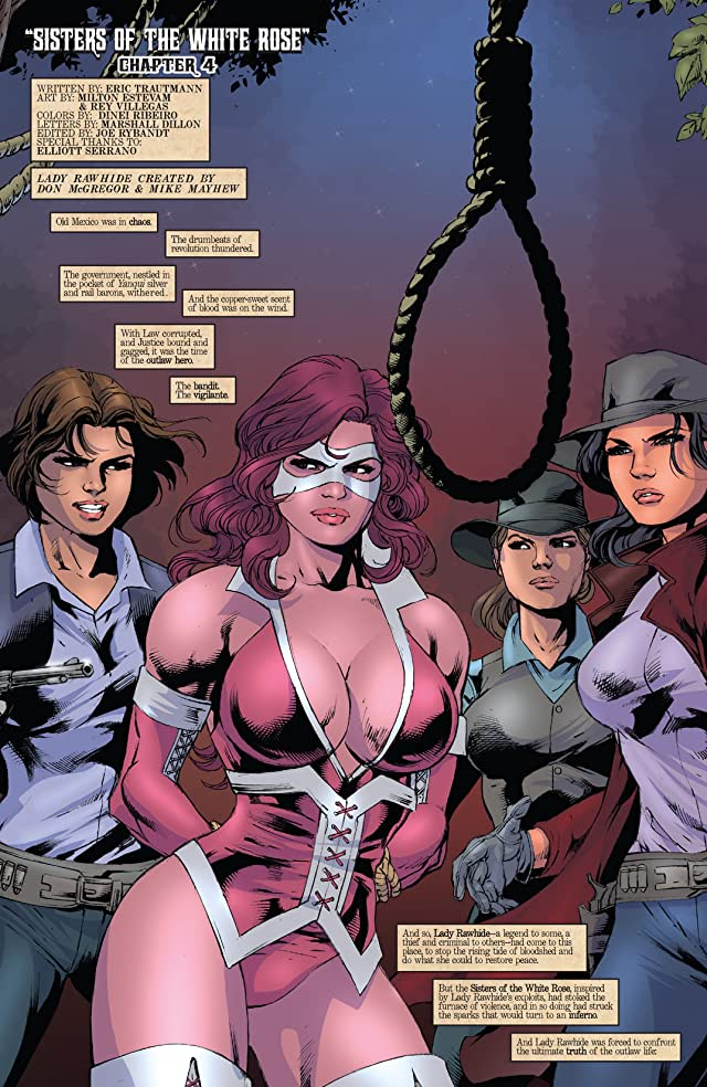 click for super-sized previews of Lady Rawhide #4 (of 5)