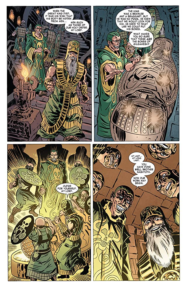 click for super-sized previews of Captain America: Hail Hydra #2