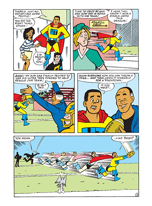 click for super-sized previews of Archie's Funhouse Double Digest #3