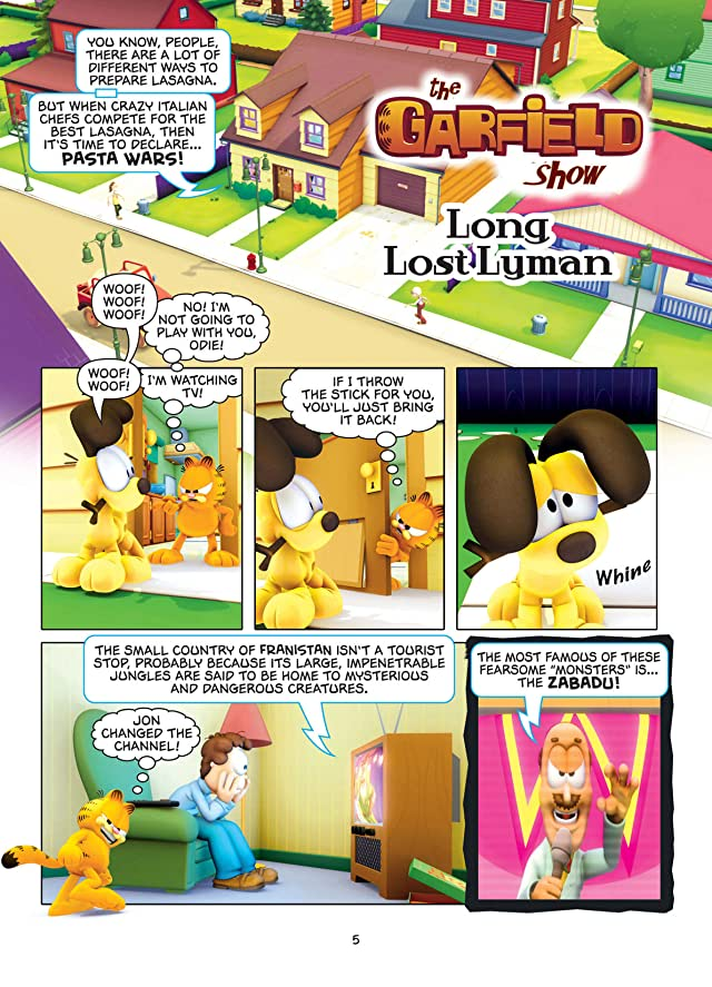 click for super-sized previews of The Garfield Show Vol. 3: Long Lost Lyman