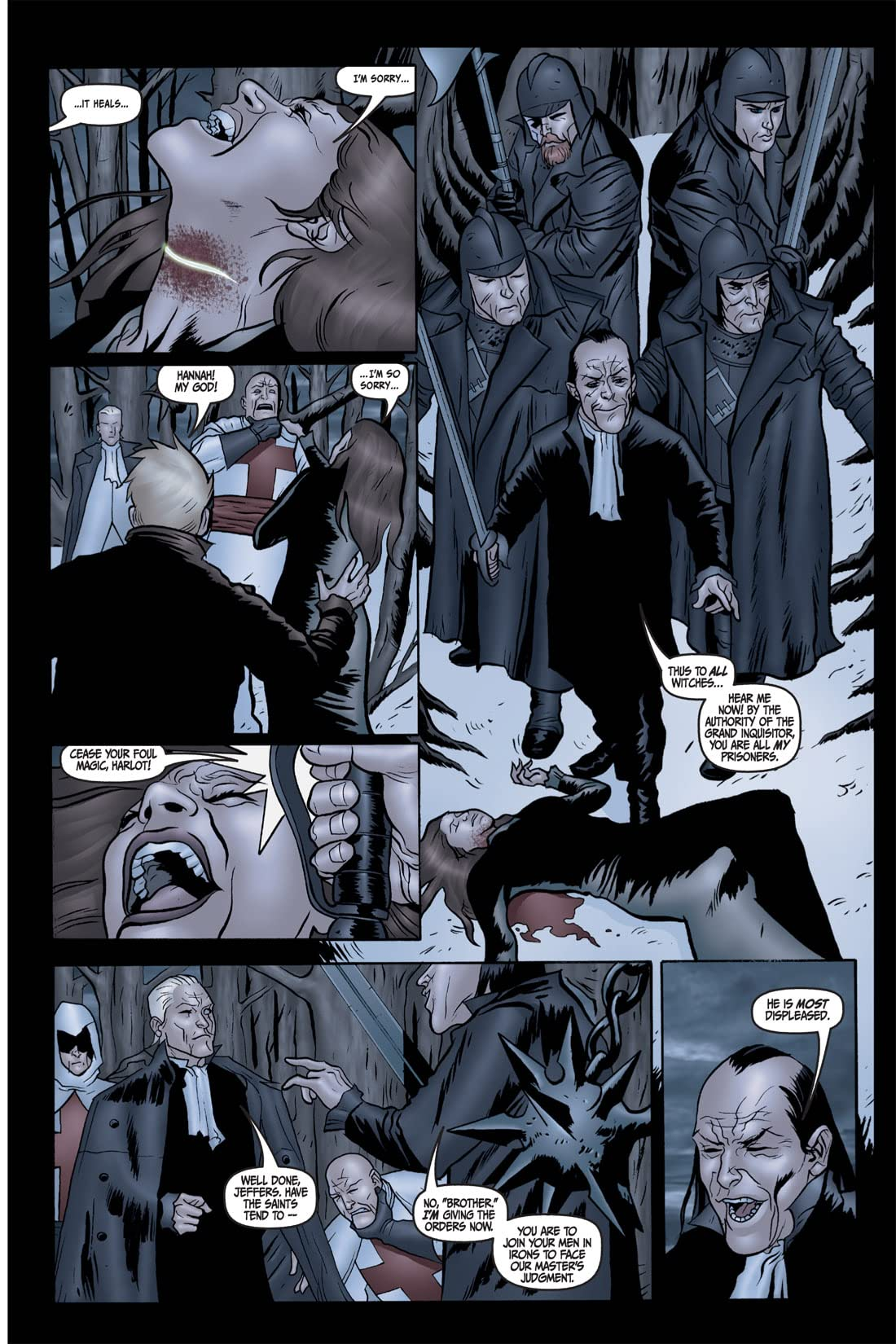Salem: Queen of Thorns #2 (of 4)