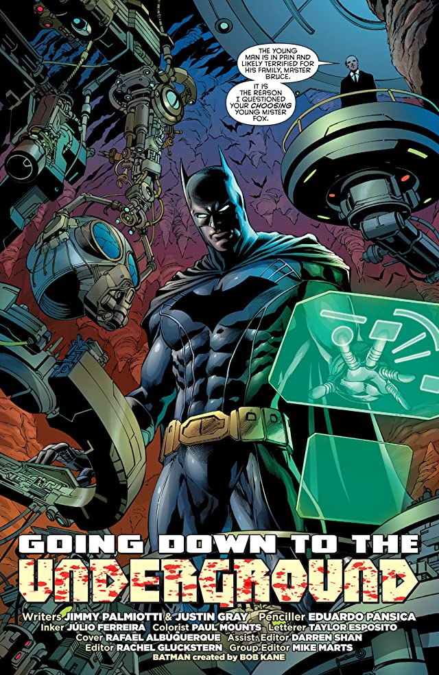 click for super-sized previews of Batwing (2011-2014) #29
