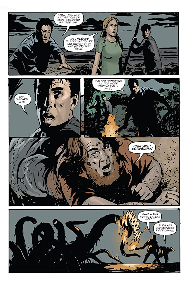 click for super-sized previews of X Isle #2 (of 5)