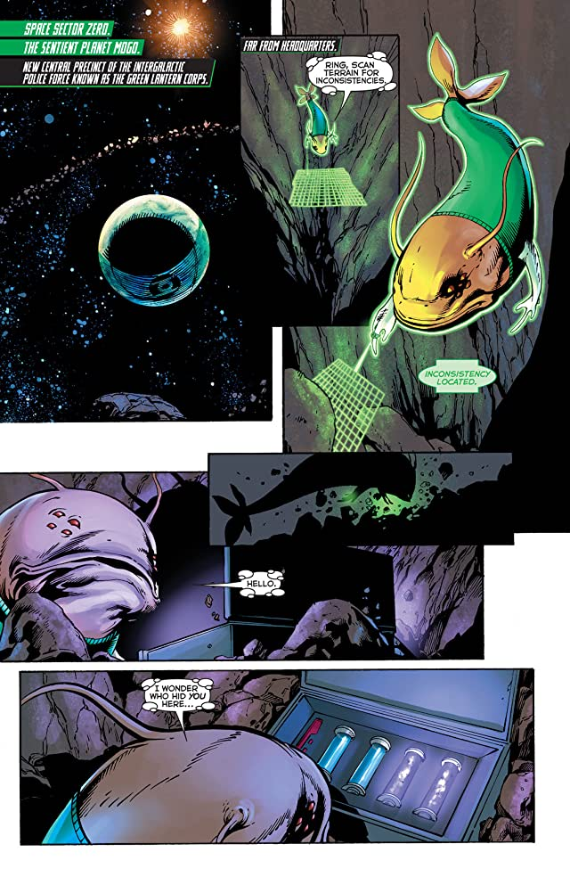 click for super-sized previews of Green Lantern (2011-) #29