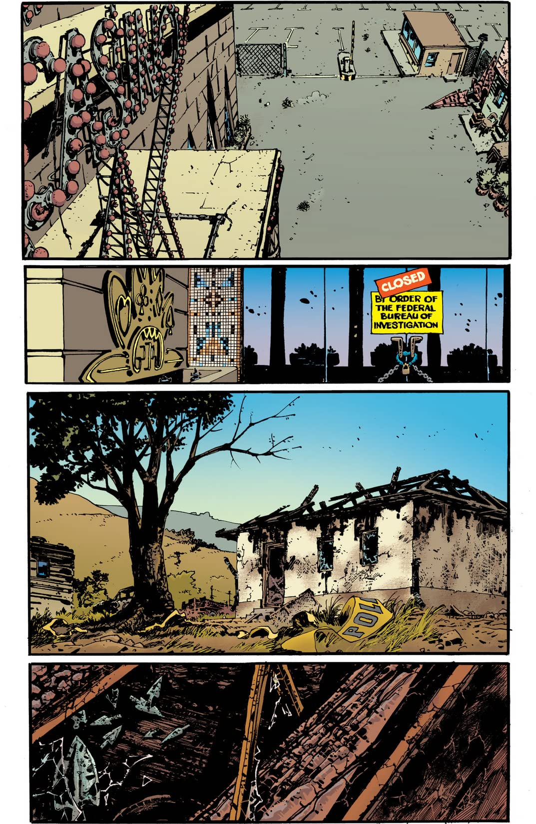 Scalped Vol. 10: Trails End