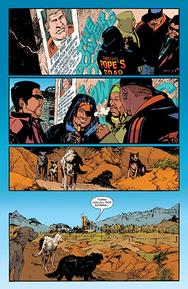click for super-sized previews of Scalped Vol. 10: Trails End
