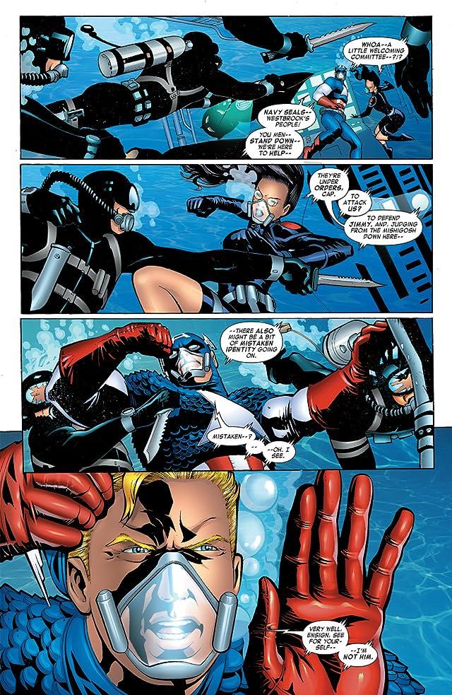 click for super-sized previews of Captain America & the Falcon #11