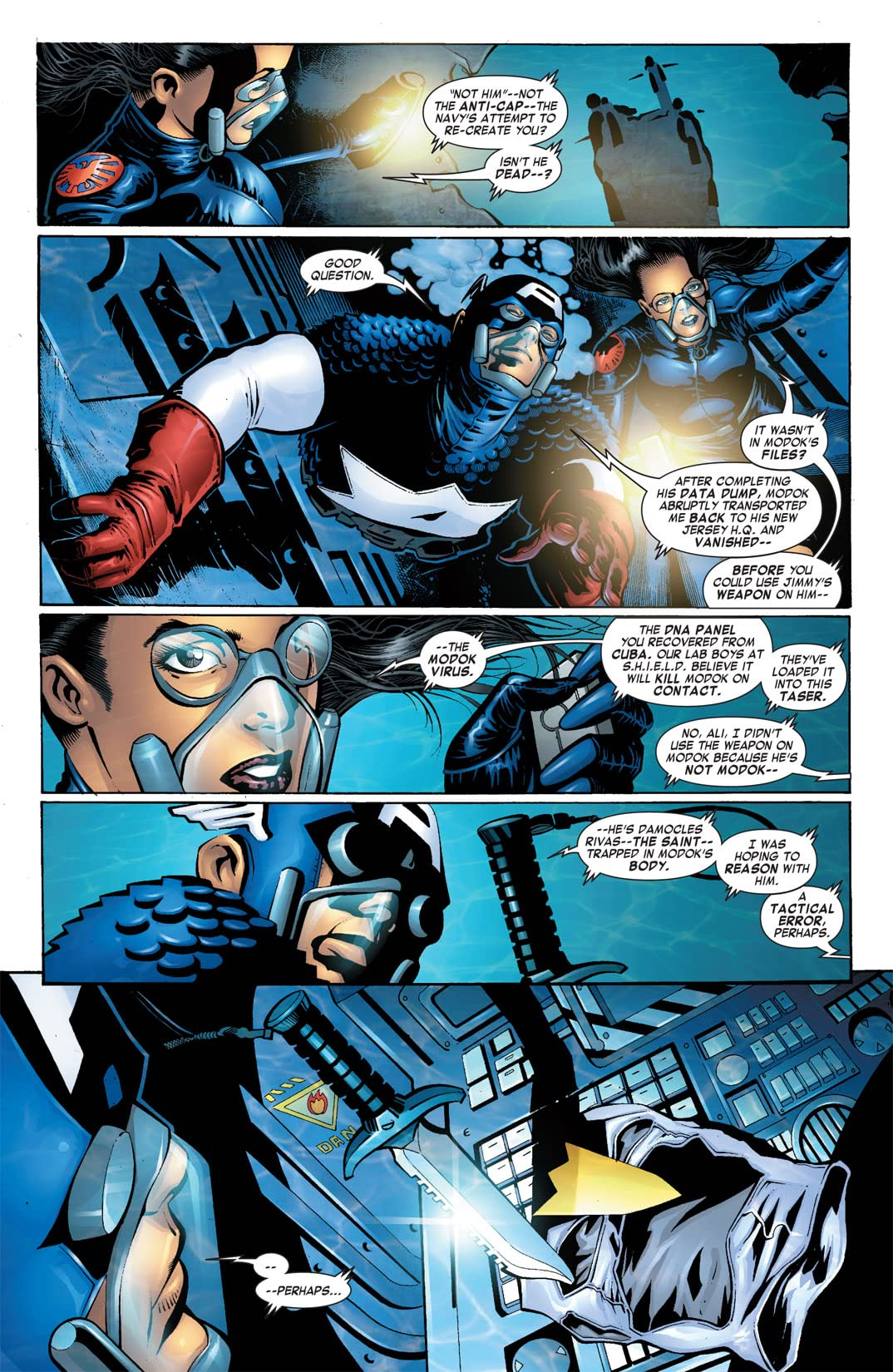 Captain America & the Falcon #11