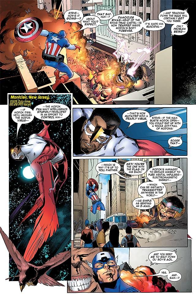 Captain America & the Falcon #12