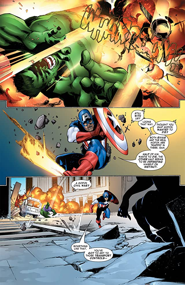 click for super-sized previews of Captain America & the Falcon #12