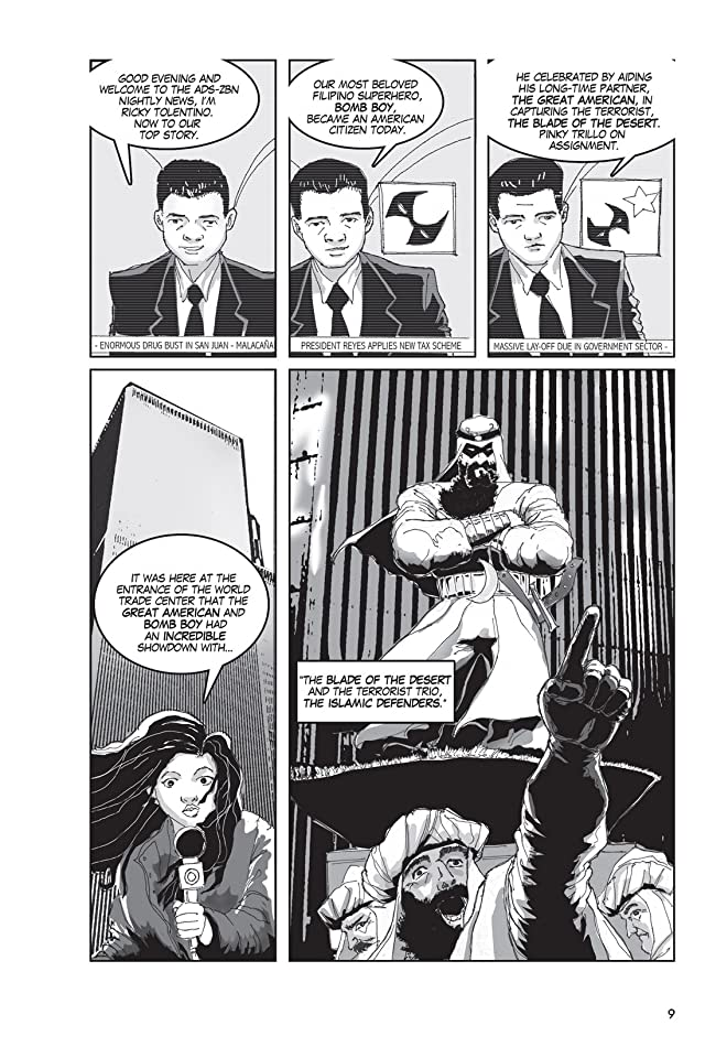click for super-sized previews of The Filipino Heroes League Vol. 1: Sticks and Stones