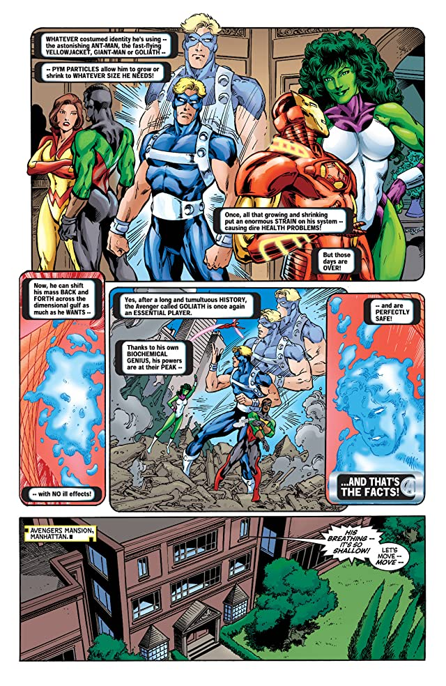 click for super-sized previews of Avengers Annual 2001