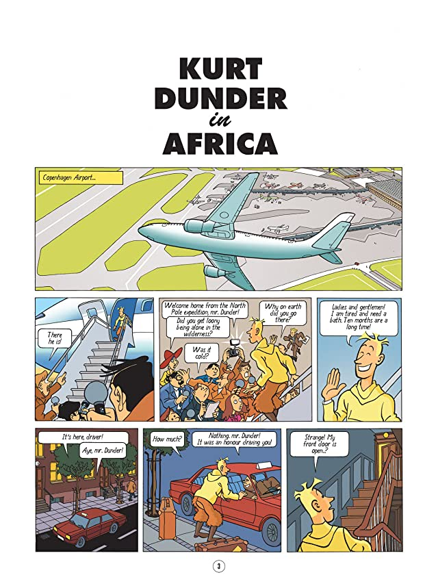 click for super-sized previews of The Exploits of Kurt Dunder Vol. 1: Kurt Dunder in Africa