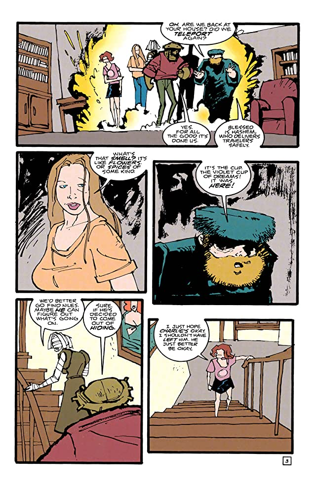 click for super-sized previews of Doom Patrol (1987-1995) #87