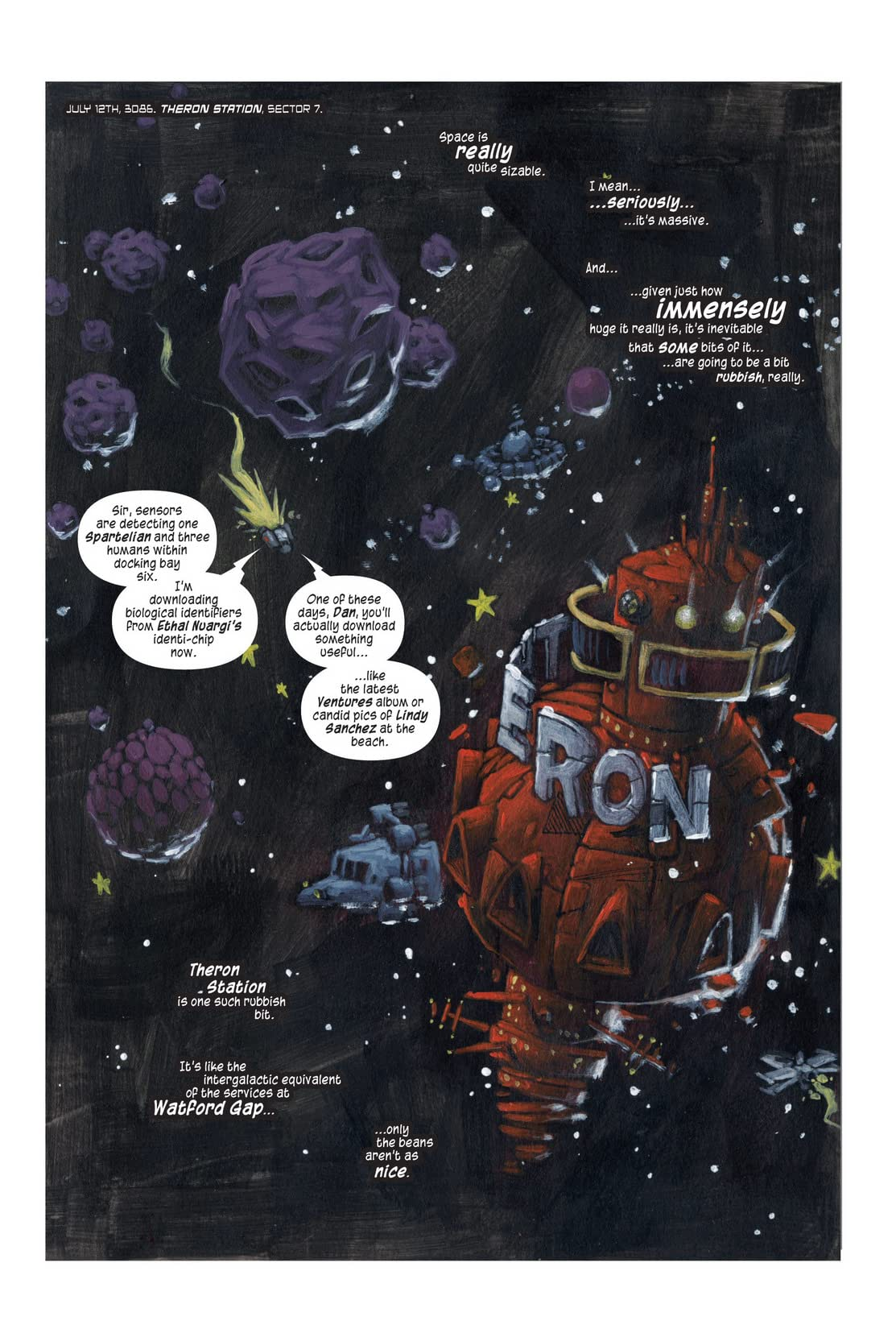 The Intergalactic Adventures of Zakk Ridley #1