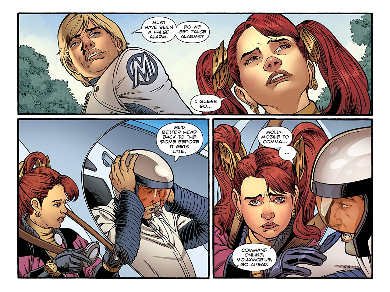 Molly Danger: Digital #4