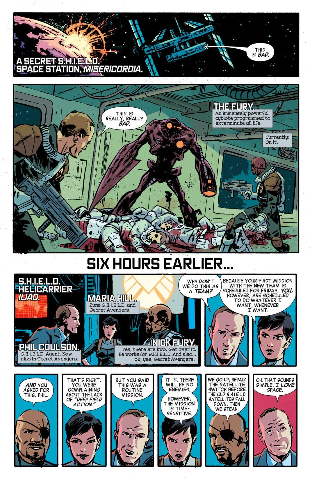 Secret Avengers (2014-2015) #1