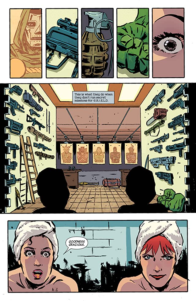 click for super-sized previews of Secret Avengers (2014-2015) #1