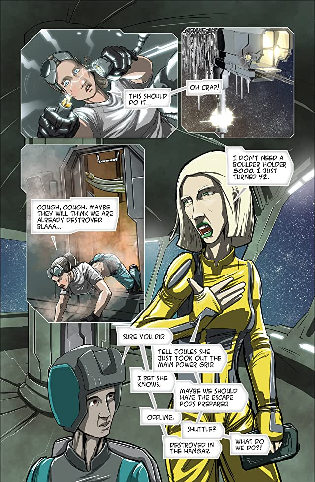 click for super-sized previews of Dan In Space #3