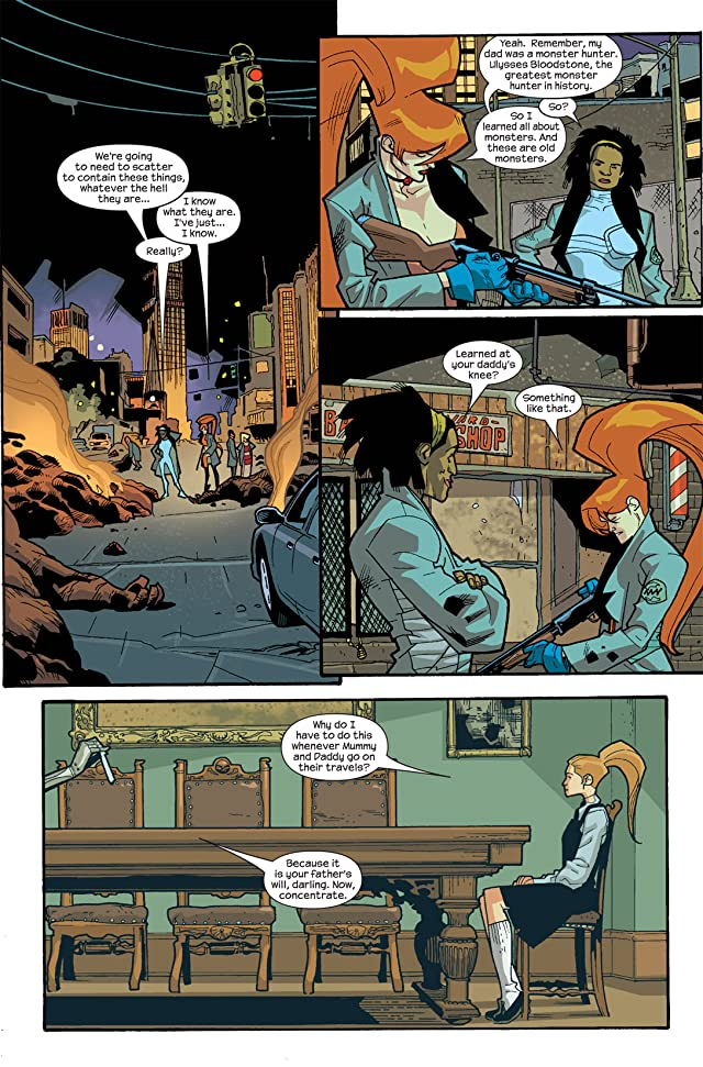 click for super-sized previews of Nextwave: Agents of HATE #8