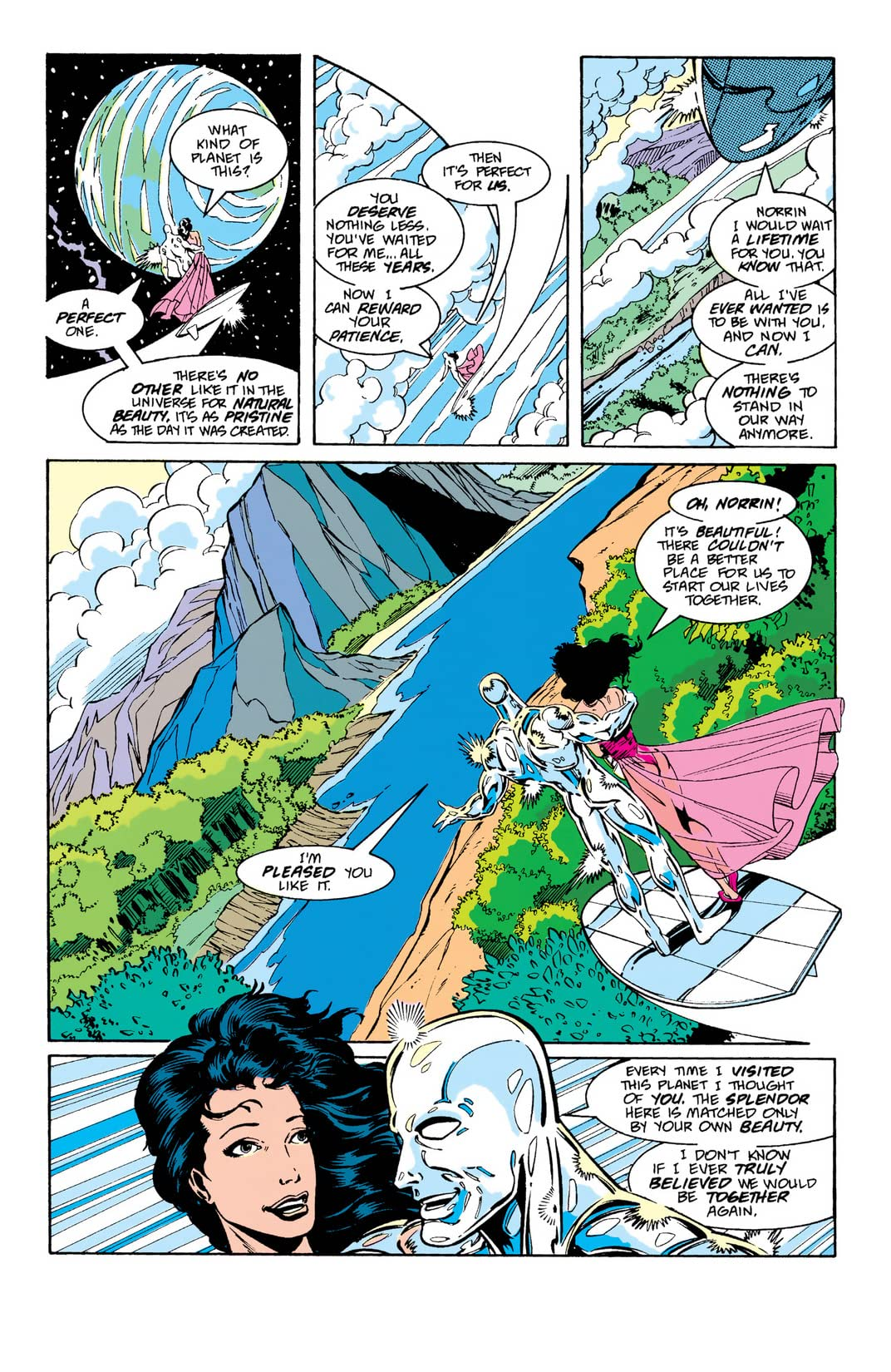 Silver Surfer (1987-1998) Annual #4