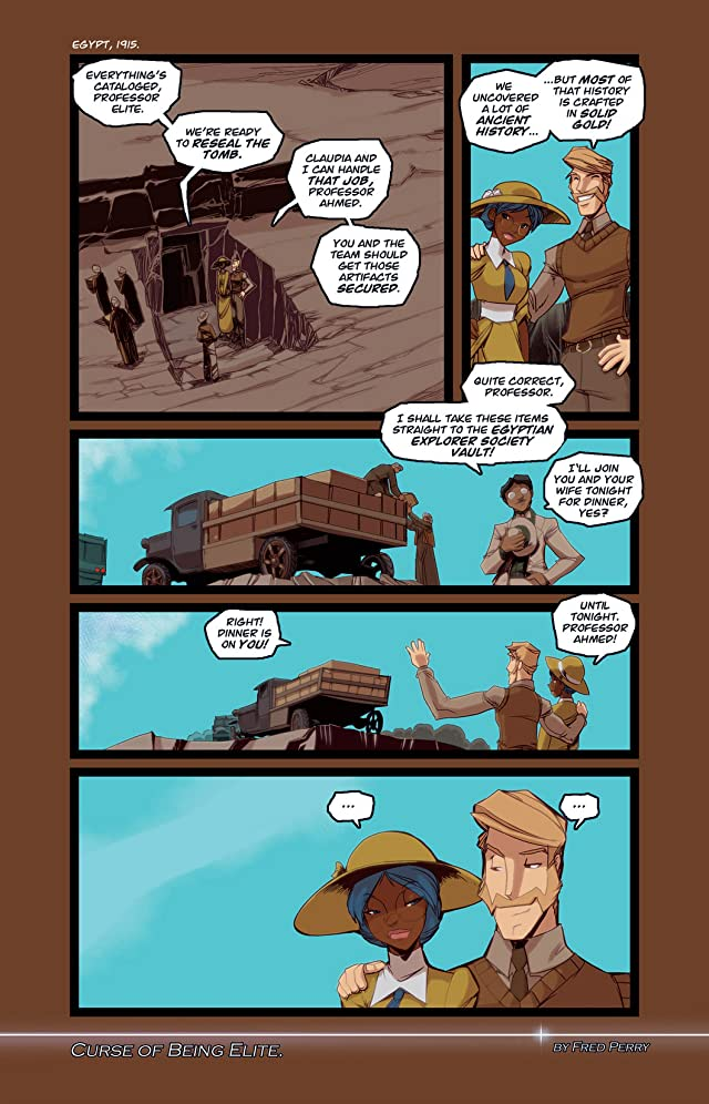 click for super-sized previews of Gold Digger #115