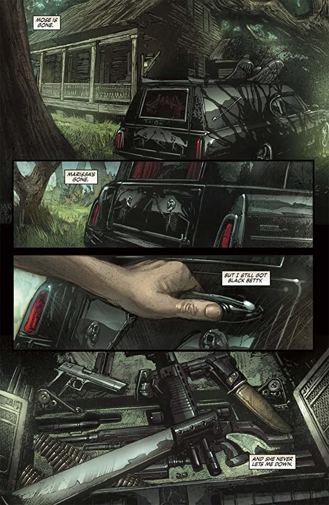 click for super-sized previews of Driver For the Dead #3