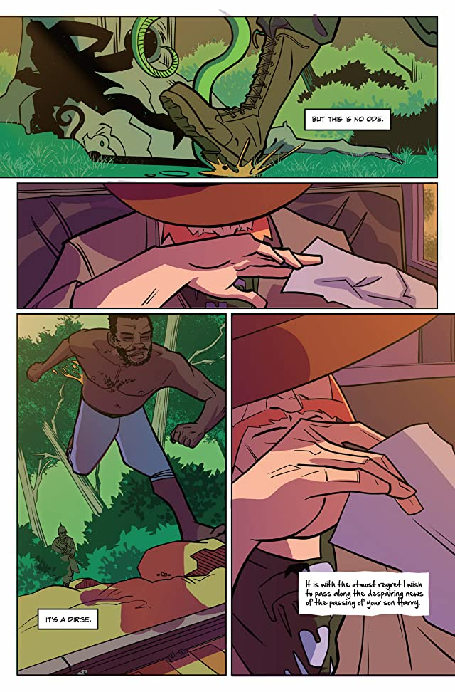 click for super-sized previews of Quatermain #0: Ghosts of the Nzadi