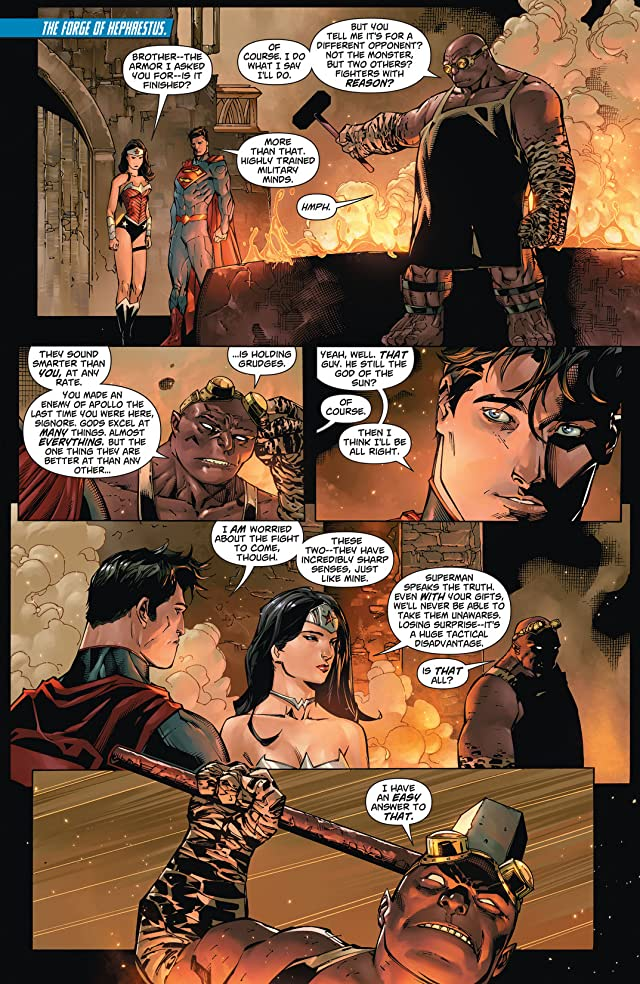 click for super-sized previews of Superman/Wonder Woman (2013-) #6