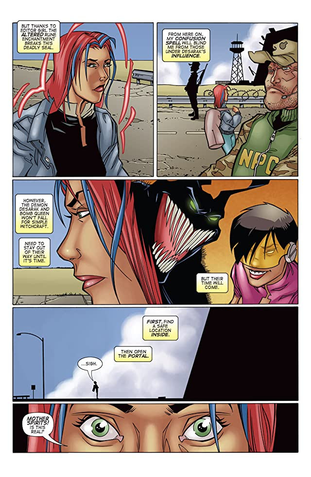 click for super-sized previews of Bomb Queen IV #3 (of 4)