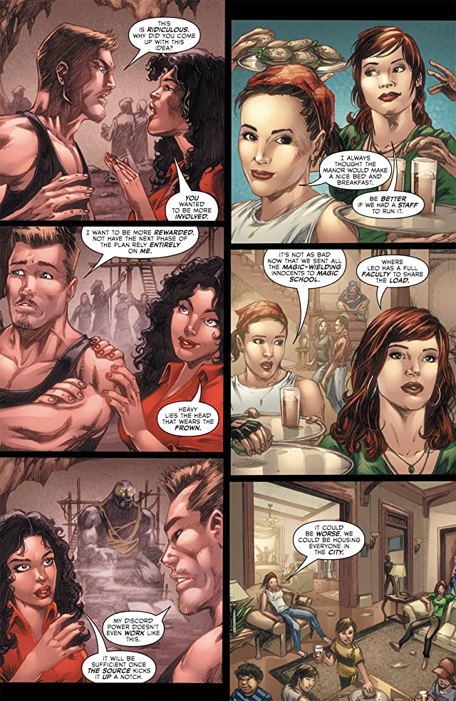 click for super-sized previews of Charmed #4
