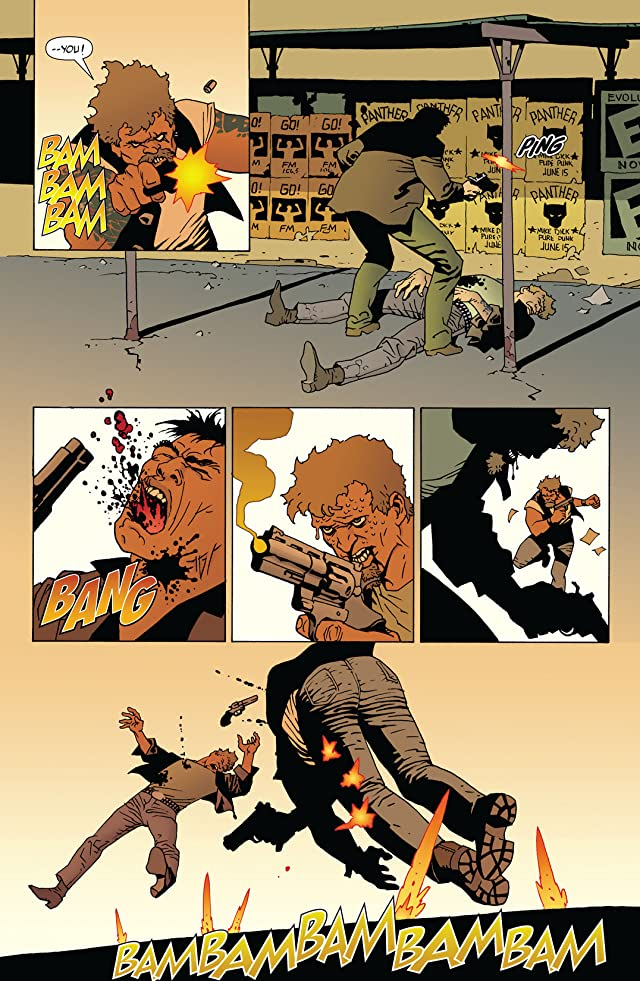 click for super-sized previews of 100 Bullets Vol. 8: The Hard Way