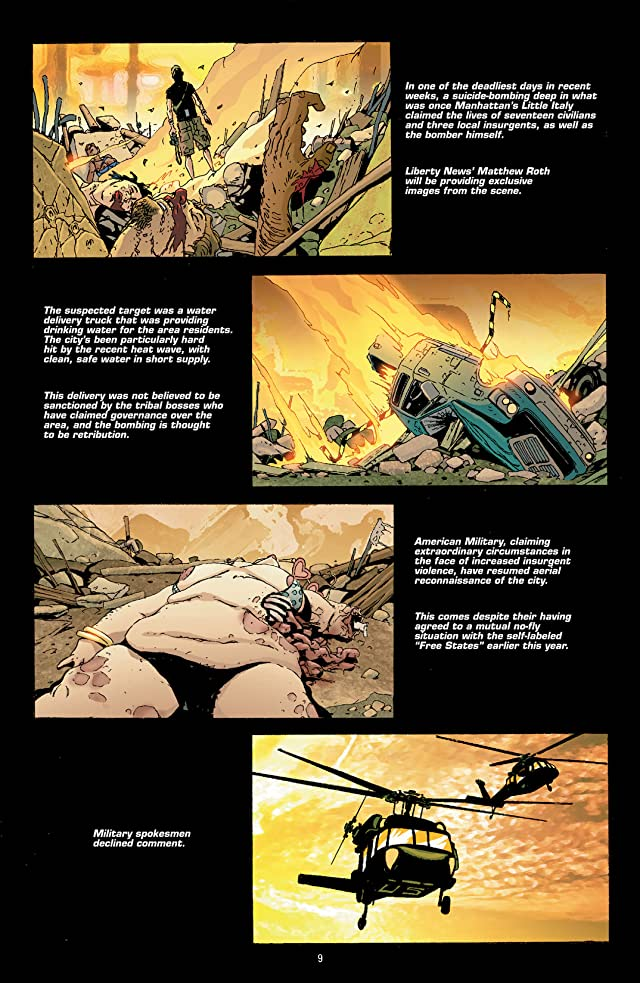 click for super-sized previews of DMZ Vol. 2: Body of A Journalist