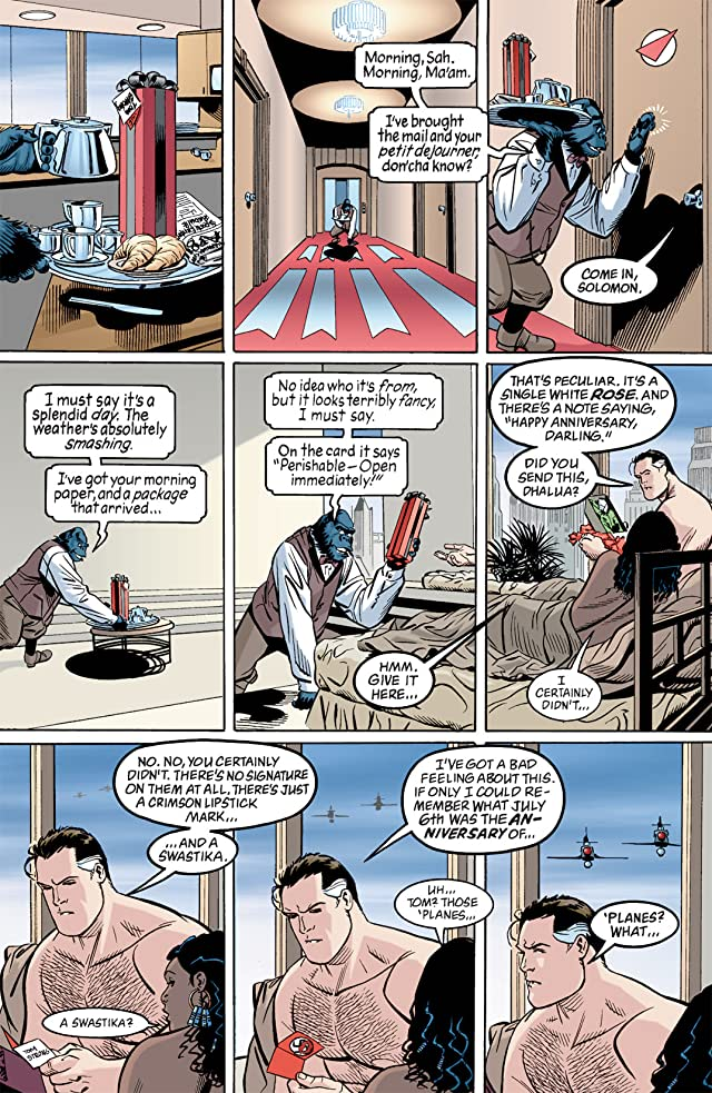 click for super-sized previews of Tom Strong #4