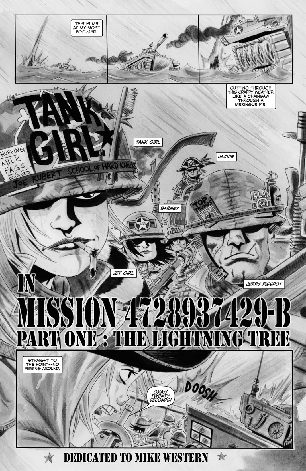 Tank Girl: Dirty Helmets