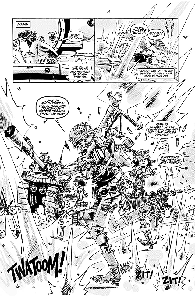 Tank Girl: Dirty Helmets