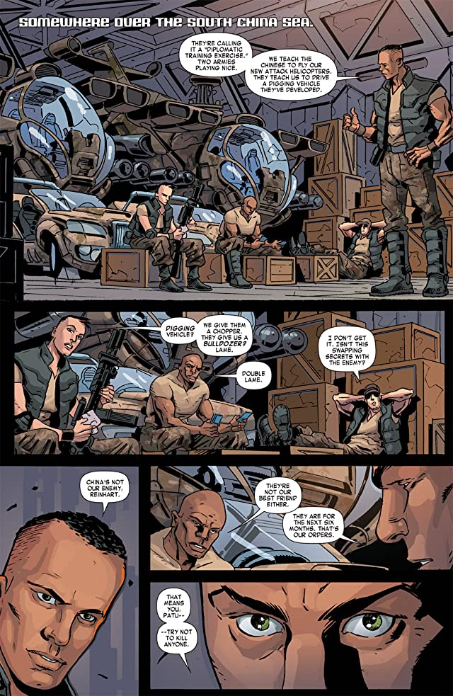 click for super-sized previews of Formic Wars: Burning Earth #2