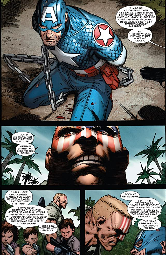 click for super-sized previews of Ultimate Comics Captain America #3