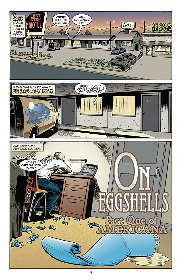 click for super-sized previews of Jack of Fables Vol. 4: Americana
