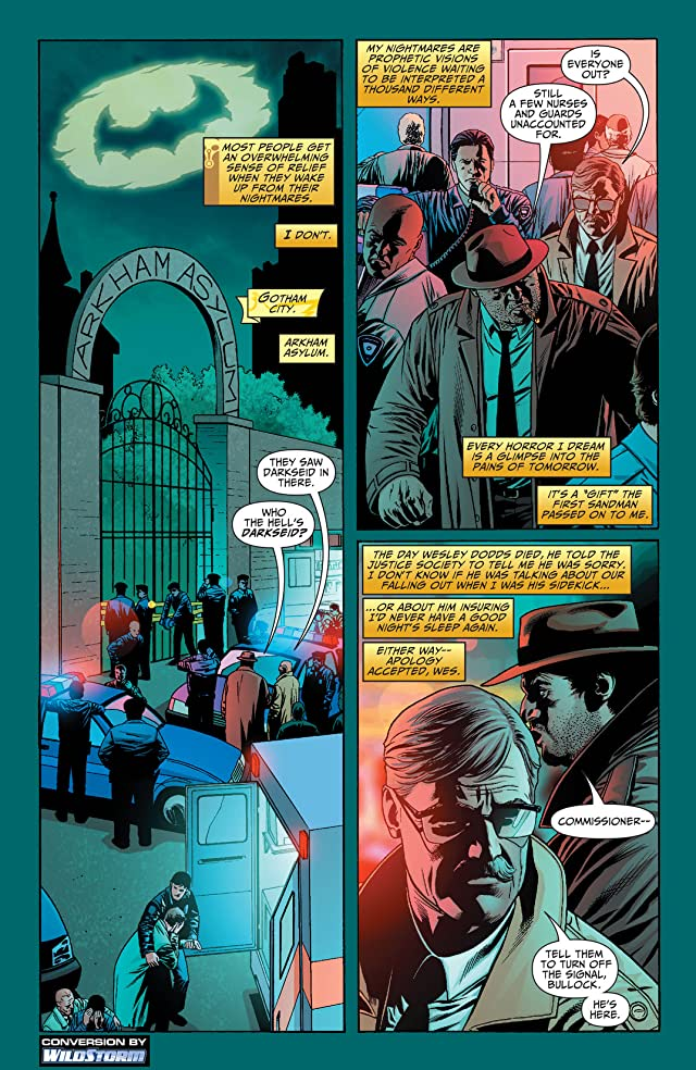 click for super-sized previews of Justice Society of America (2007-2011) #5